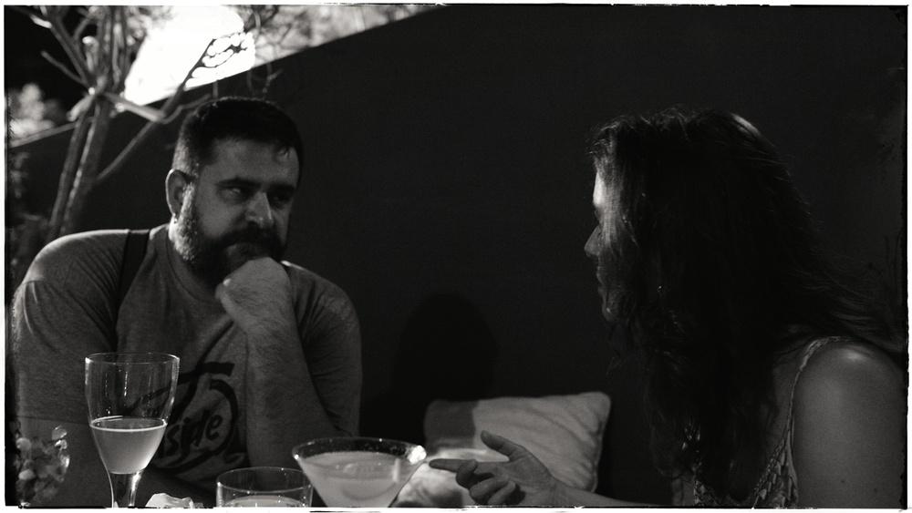 Kostas and Gro Bente.