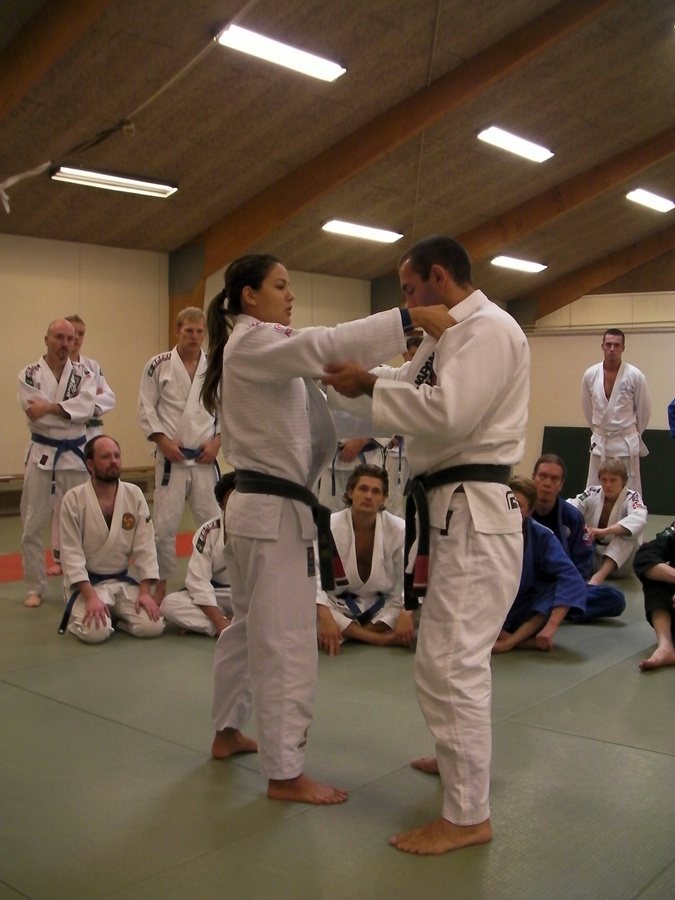 Kyra Gracie at Choke BJJ