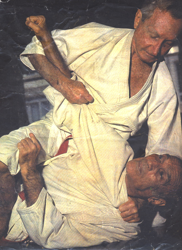 Grand Masters Carlos and Helio Gracie
