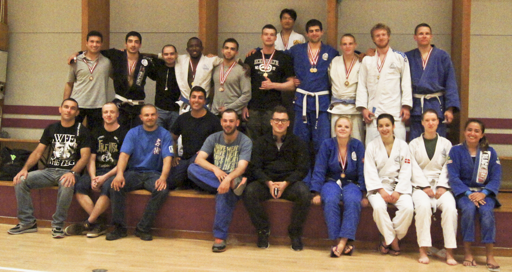 Choke BJJ Team at the Roskilde Open 2013