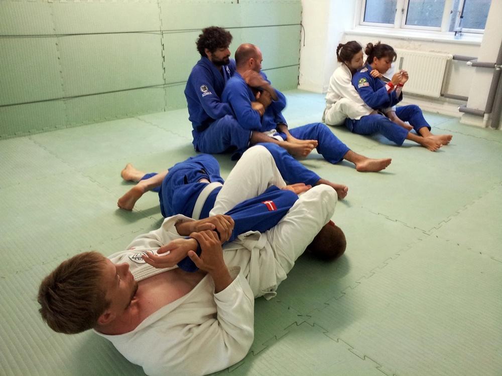 Blue Belt Class at Choke CPH