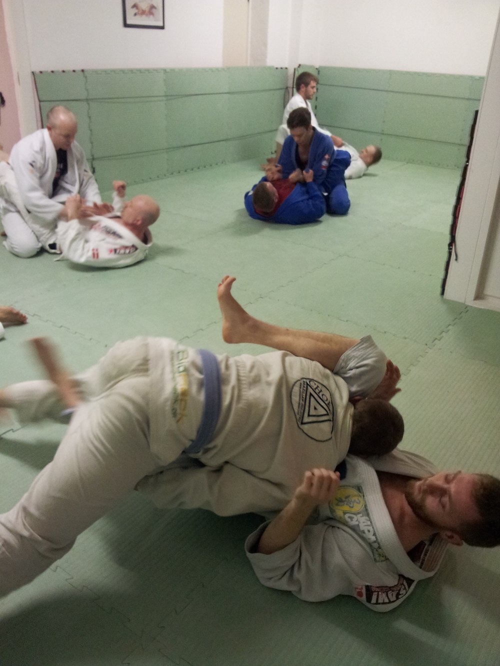 Team training at Choke CPH