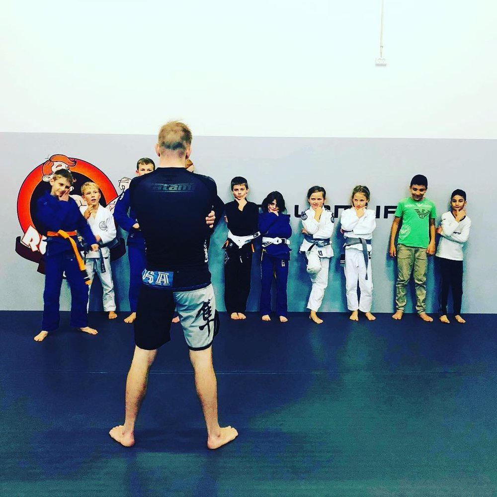 Choke BJJ Kids Program