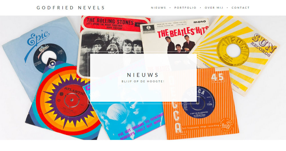 Website (en facebooksite) Godfried Nevels schrijver/journalist