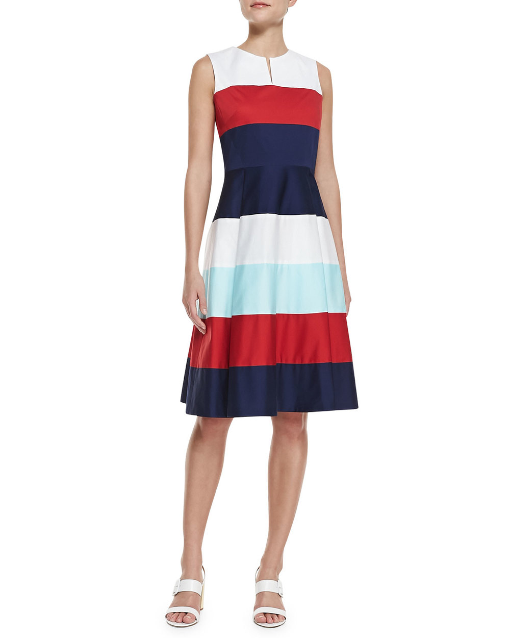 kate spade new york - corley colorblock dress via Neiman Marcus