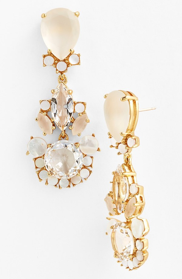 "kate spade ""Grand Bouquet"" Drop Earrings - $128"