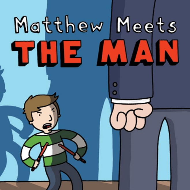Matthew Meets the Man by Travis Nichols
