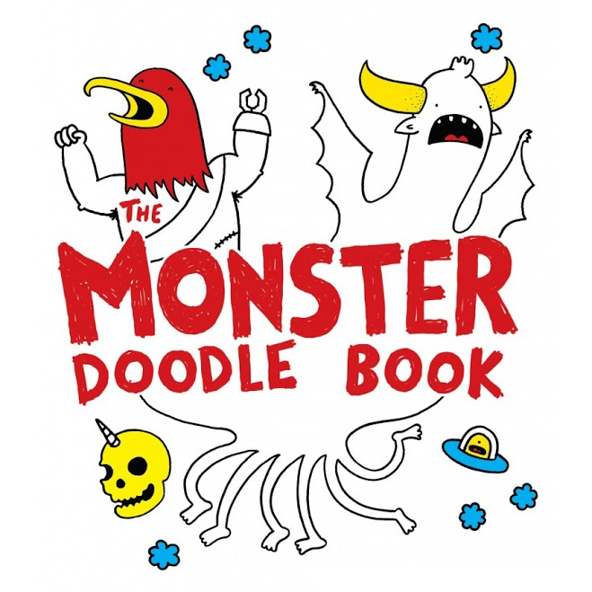 The Monster Doodle Book by Travis Nichols