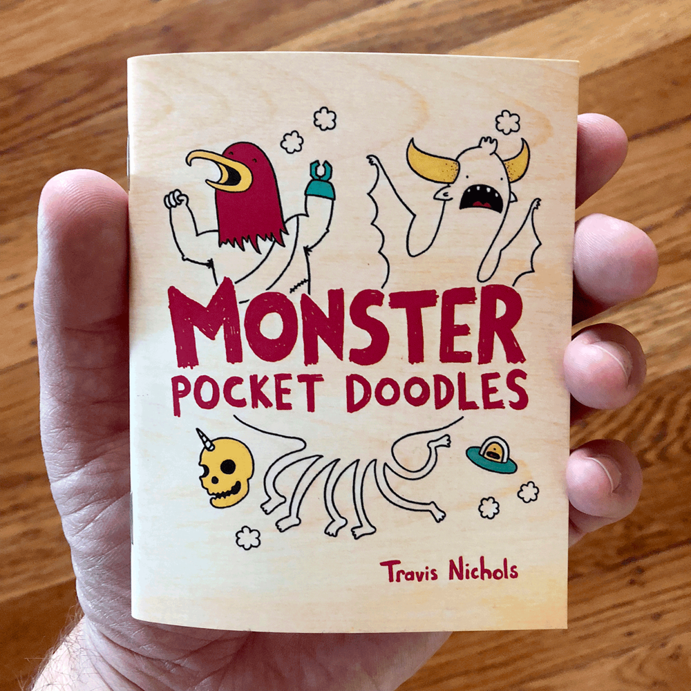 Monster Pocket Doodles