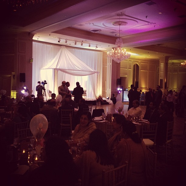 #HaqueWedding underway! (Taken with  Instagram  at Empire Room)