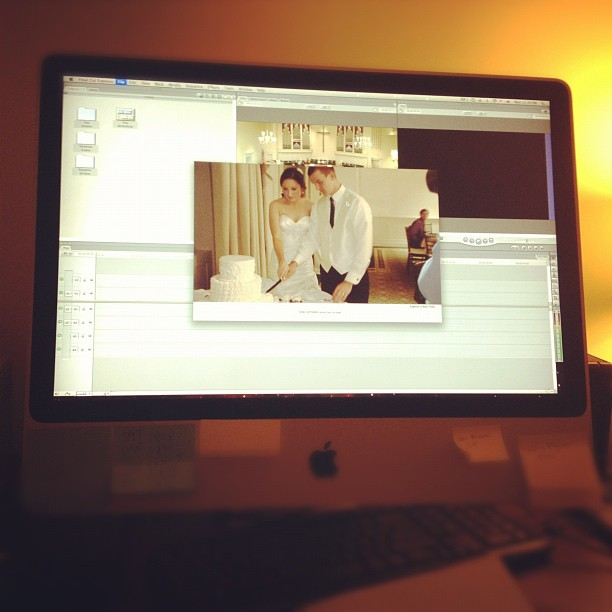 Editing the #FordWedding (Taken with Instagram at Sanford, NC)