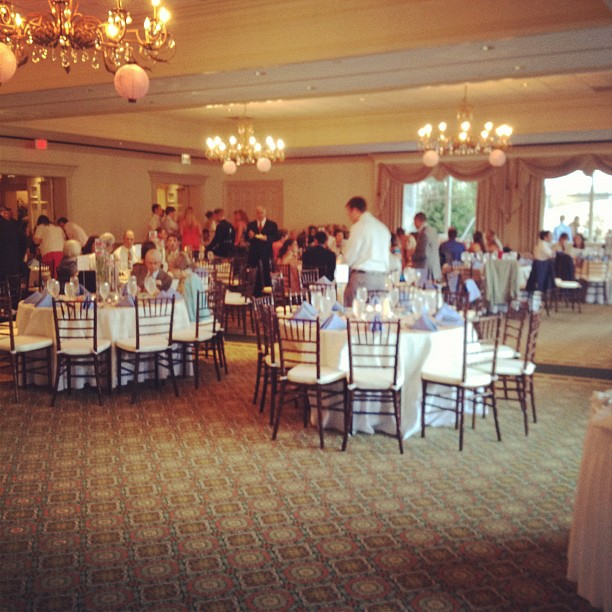 #FordWedding reception is underway. Swanky! (Taken with Instagram at Sedgefield Country Club)