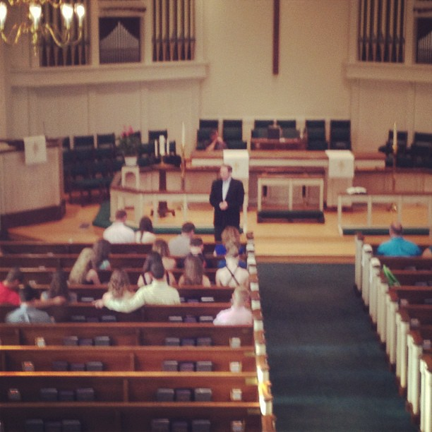 #FordWedding rehearsal at Jamestown United Methodist Church (Taken with  Instagram )