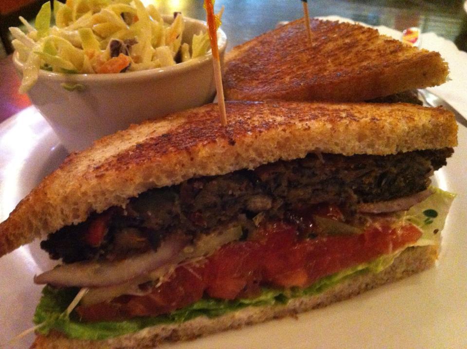 Samson Burger @ Ethos Vegan Kitchen — Dafoodie