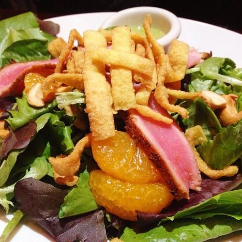 Tuna Salad with Wasabi Sauce