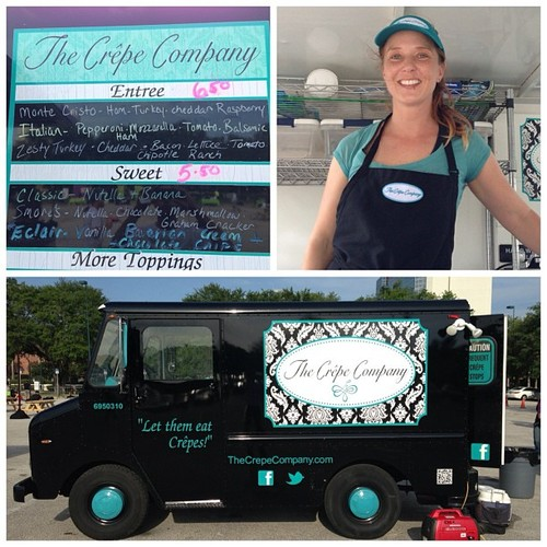 Bonjour! Lisa the Crepe Lady @thecrepecompany