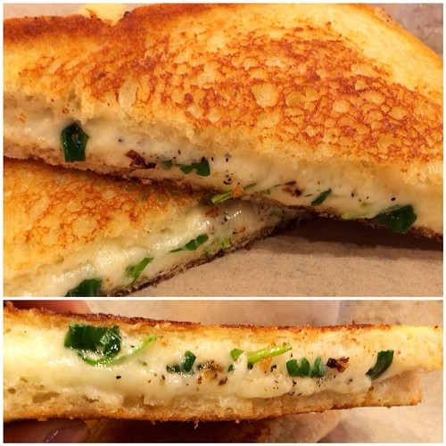 Get a FREE sandwich card today 2/27 only. Truffle Melt @GetToasted Havarti, truffle oil, arugula, fresh ground pepper