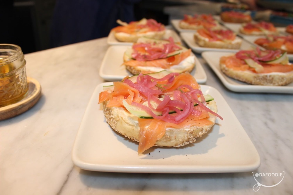 Salmon and Bagel