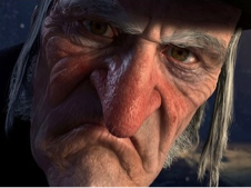 Just the image we see in our dreams about Scrooge!