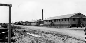Camp Phillips barracks near Salina, Kansas