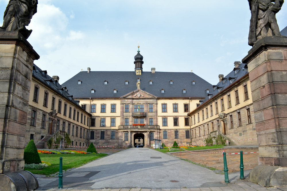 This is the Stadtschloss, an early 18th-century palace.