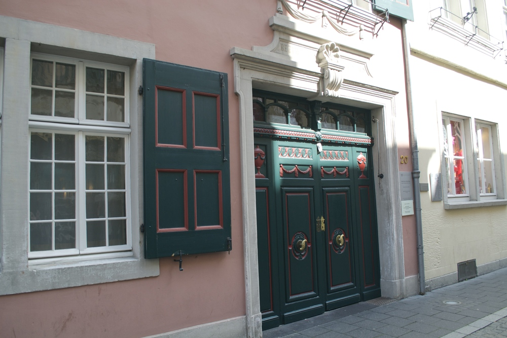 The front of Beethoven's birth house.