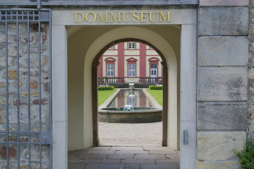 Entrance to the Dommuseum in Fulda, 5/4/2014