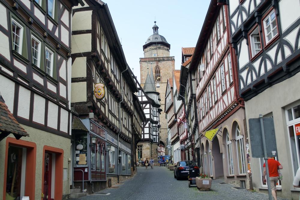 Altstadt in Alsfeld, 5/31/2014