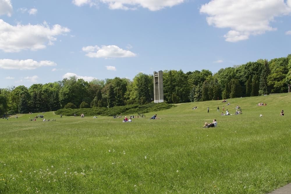 The expansive Park Cytadela