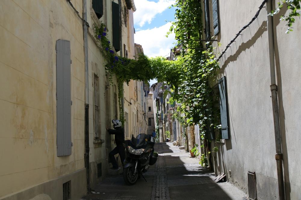 Alley in Arles, France
