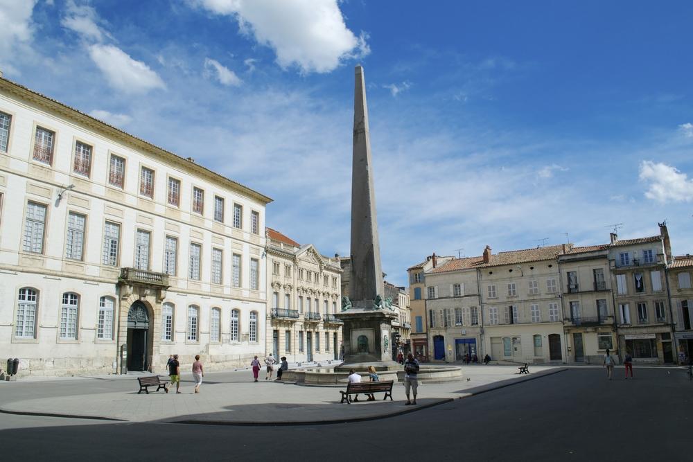 Square in Arles, France
