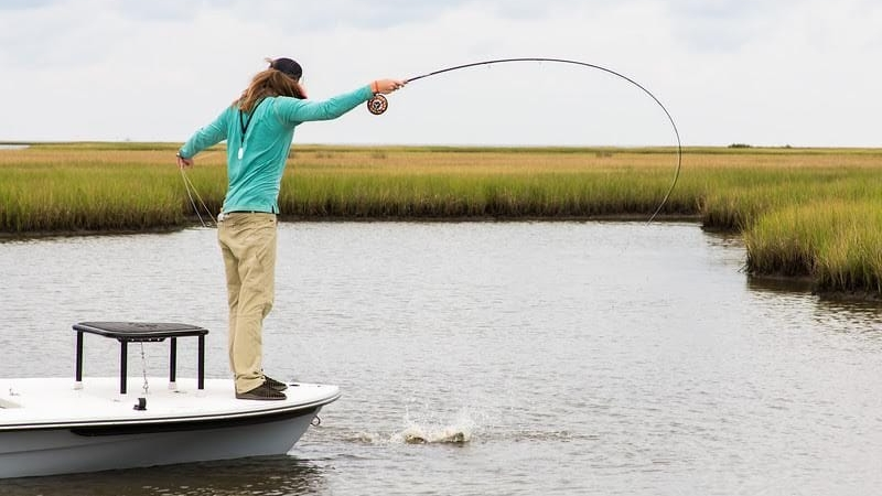 Southern Flats Louisiana Package - Two day guided fly fishing trip in Louisiana for Redfish and other species with Orvis-endorsed guide Captain Bailey Short.