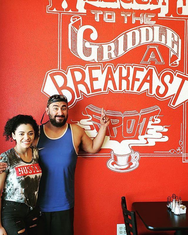 If you're in Denver, CO, you need to check out @threelittlegriddles located in Aurora. Best french toast we've ever had. And they make their own bread!