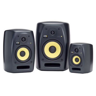 KRK's VXT series monitors are the speaker of choice in The Rhythm Studio recording studio - outstanding sonic precision!