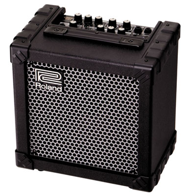 Roland Cube guitar and bass amps are packed with features and provide a reliable and hard-wearing amplification solution for our busy studios.
