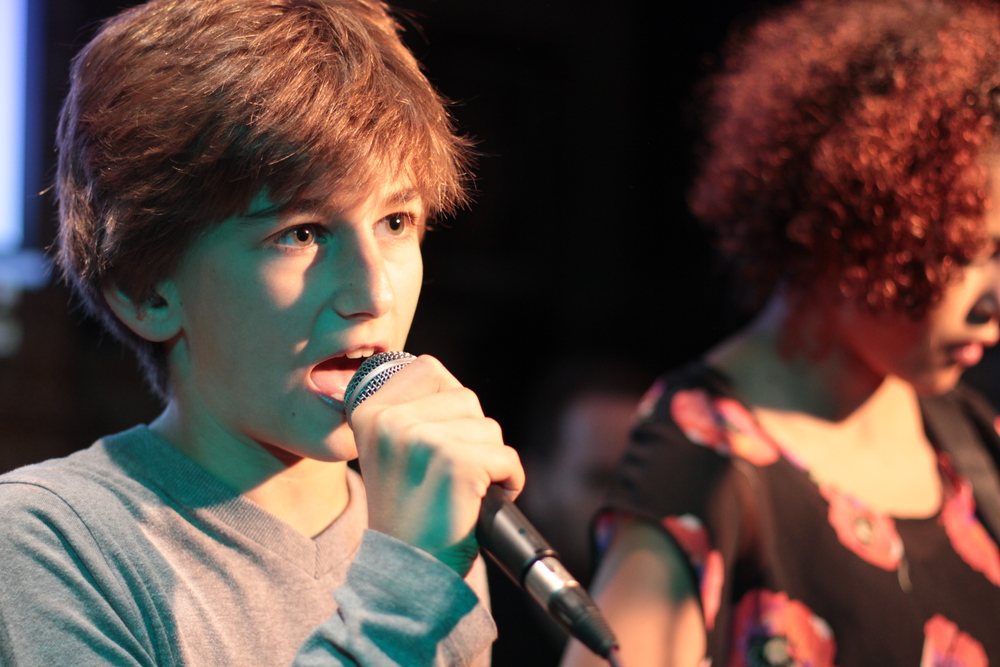 The Rhythm Studio Junior Gig 2014