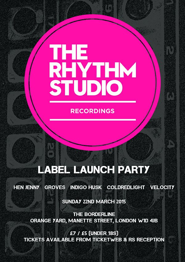 RS Recordings Label Launch Party The Borderline