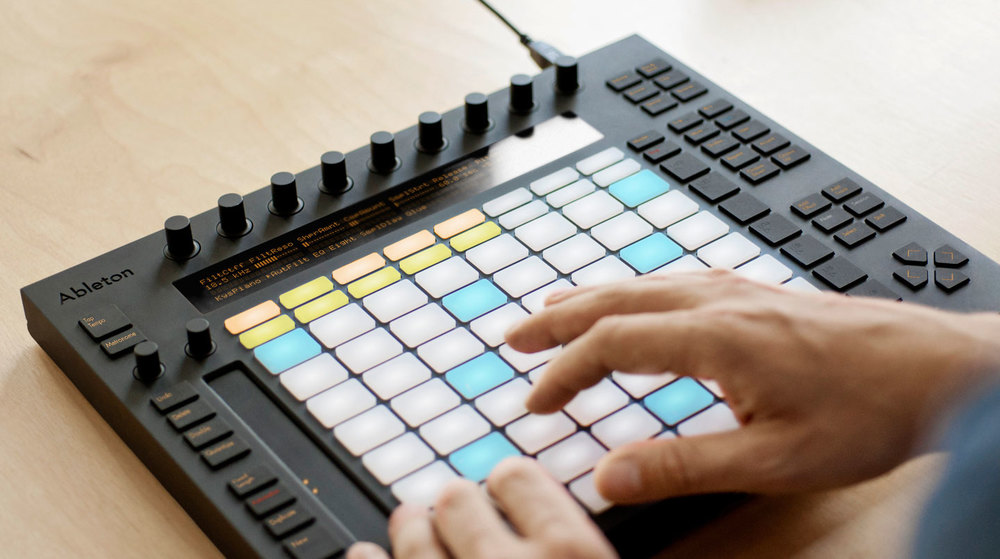 FIND OUT MORE ABOUT  ABLETON PUSH