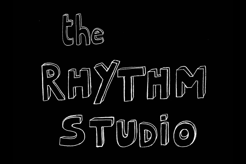 Bella's t-shirt design for The Rhythm Studio
