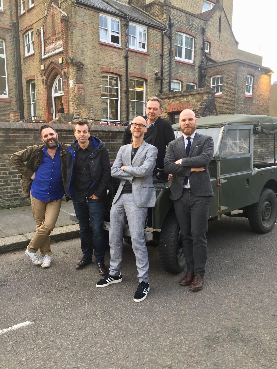 RSF All Star Band: Shaun Keavney, Tim Bran, Martin Terefe, Tom Dixon and Will Champion
