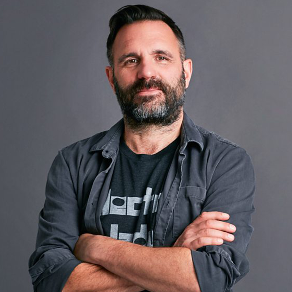 """SHAUN KEAVENY    """"I am so proud to be a patron of The Rhythm Studio Foundation. Such brilliant work is done here to nurture the next wave of musical talent."""""""