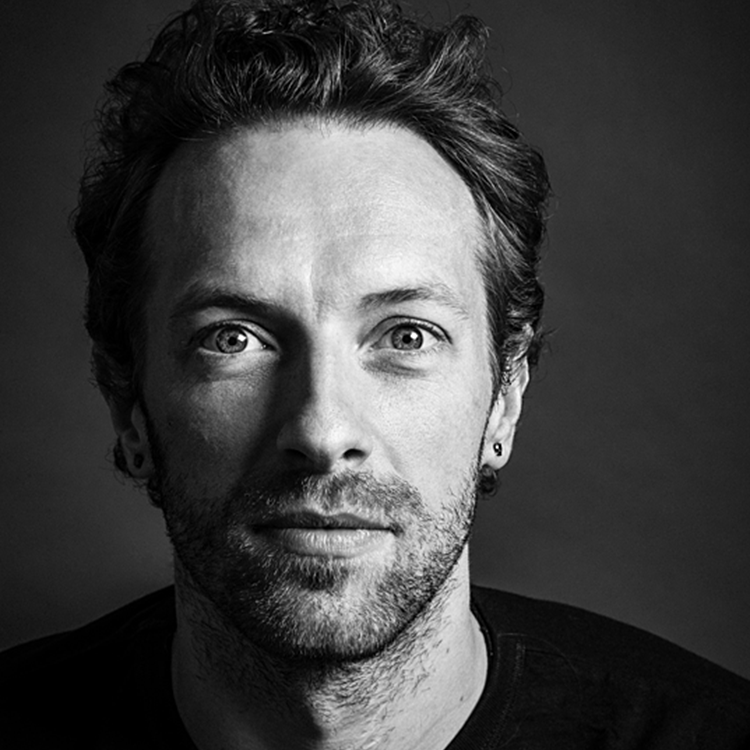 """CHRIS MARTIN    """"The work that The Rhythm Studio Foundation does helping young musicians is fantastic and inspiring, and I'm proud to be associated with it."""""""