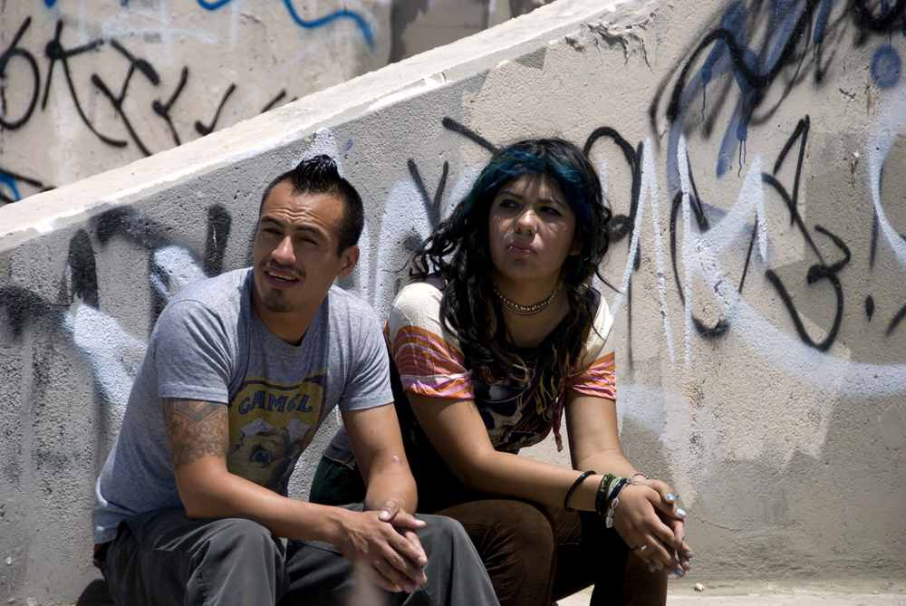 Ruben Aquilar as Danny & Jazmin Dominquez as Chelsea