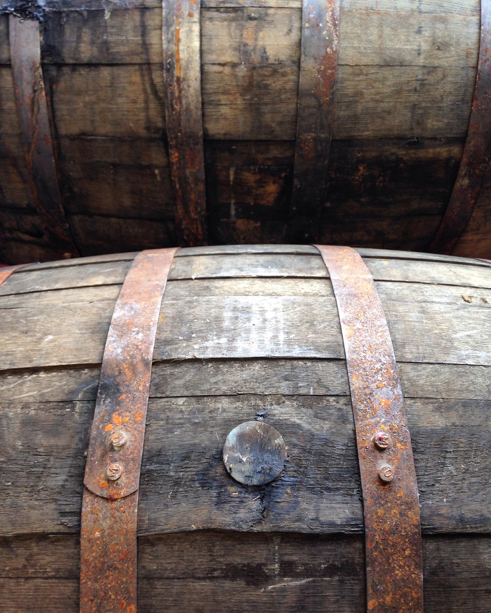Before aging Palehorse, these barrels housed Breckenridge Bourbon in Colorado for many years.
