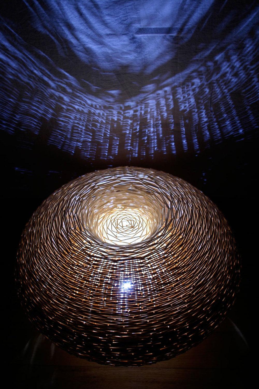 wood 'floor round'
