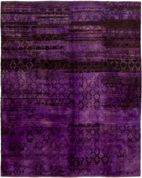 1959 Overdyed Rug from Loom