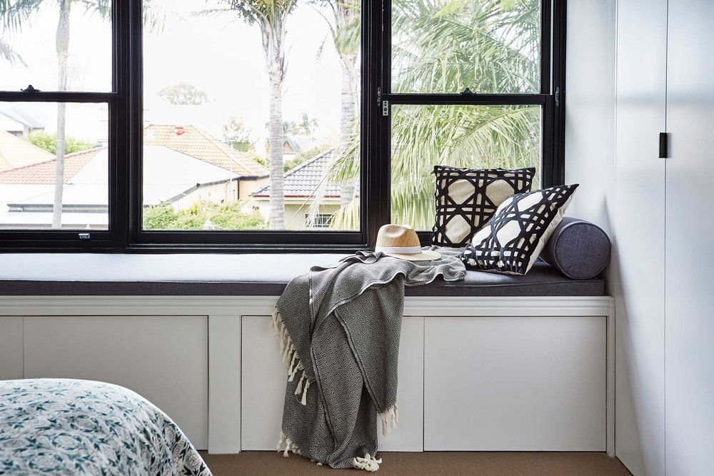 Window Seat Randwick House - Carmen Parker Styling