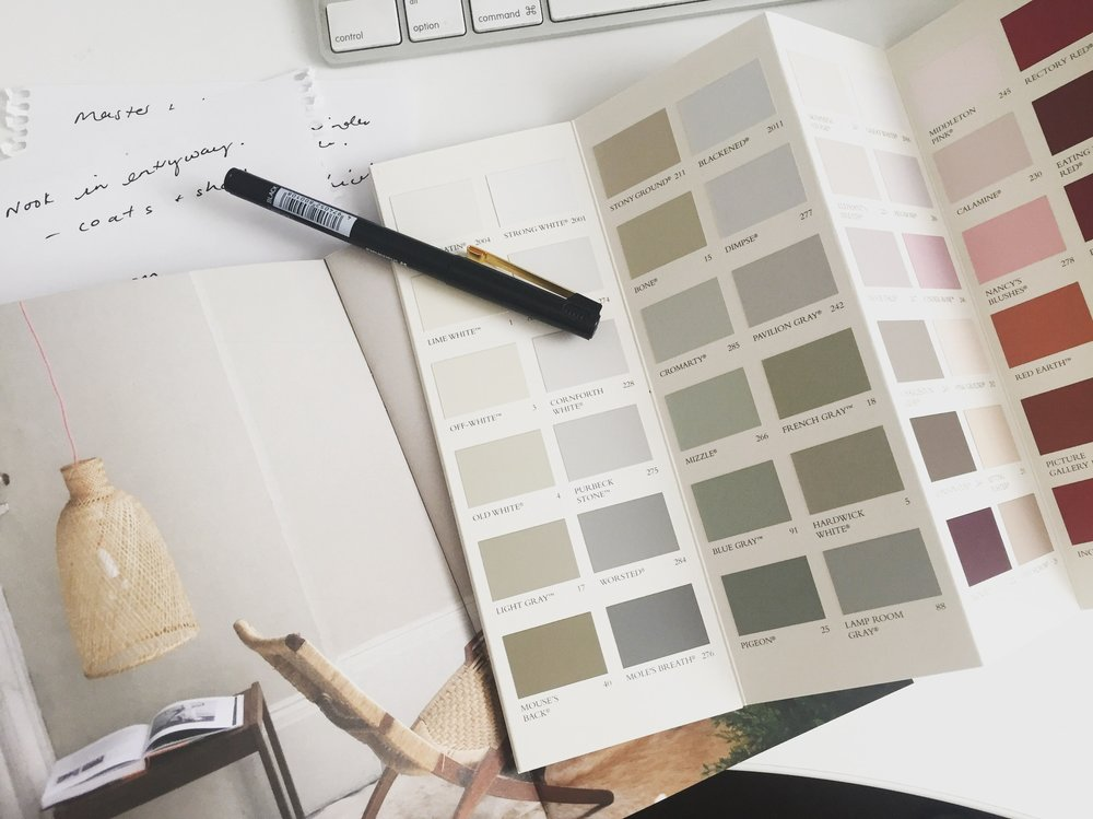 carmen parker styling paint colours