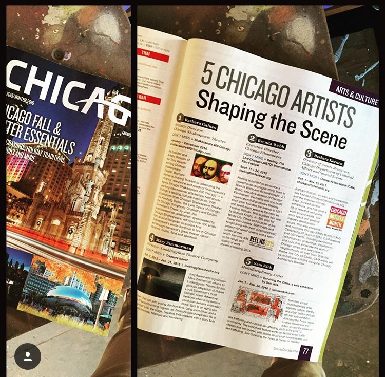 """5 ARTISTS SHAPING THE SCENE"" 2015/2016 FEATURED ARTIST"