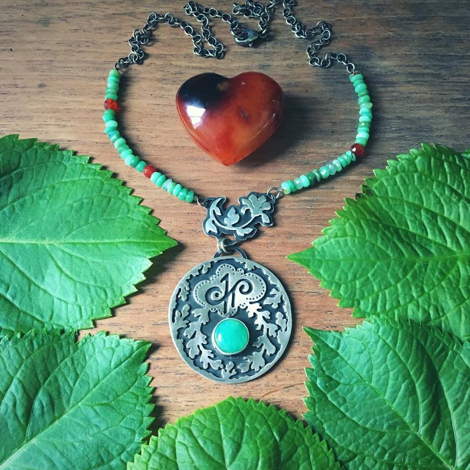 I Nourish Myself - A talisman necklace